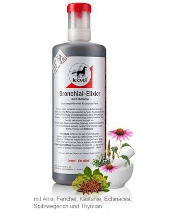 Cudowna Leovet, Bronchial Elixir, syrop na drogi oddechowe, 1000ml - Sklep FK75