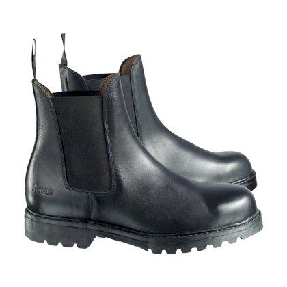e609159a4c6ad Sztyblety Jodhpur Steel Cap, czarne, Horze - Sklep Jeździecki Tundra